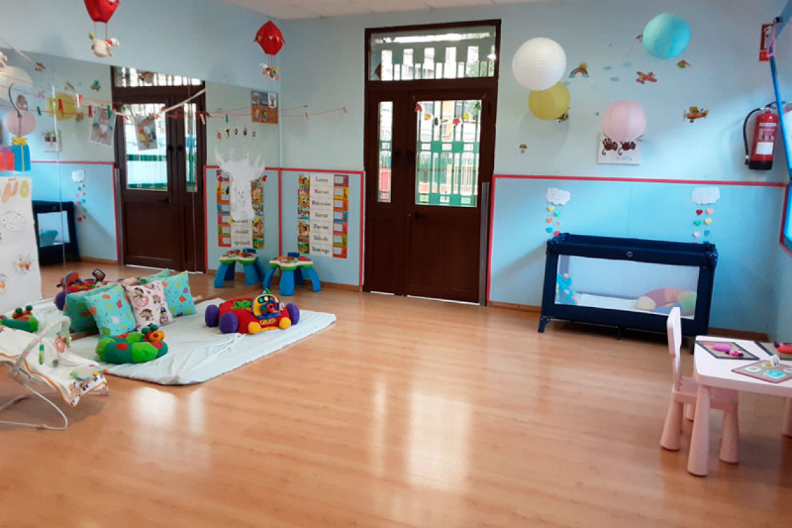 guarderia-pato-donald-triana-aulas-para-bebes