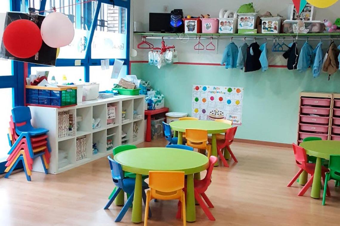 guarderia-pato-donald-aula-niños-de-dos-años